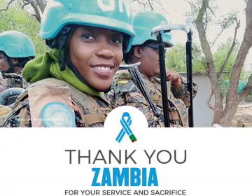 UN Praises Zambia's Contributions To African Peacekeeping