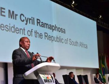 Ramaphosa Calls for Increased Trade Between BRICS Nations