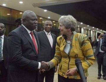 Ambode Receives Theresa May in Lagos as British PM Seeks Sustainability of UK/Lagos Trade Relationship