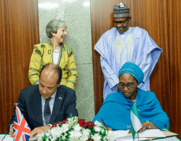 Nigeria Signs Two Bilateral Agreements With Britain After Theresa May's Visit