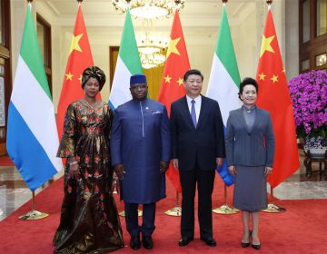 China, Sierra Leone vow to further promote bilateral ties