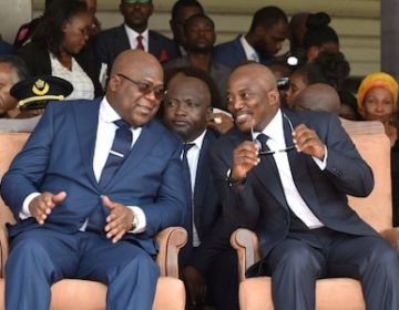 DR Congo's Tshisekedi holds Coalition Talks With Kabila