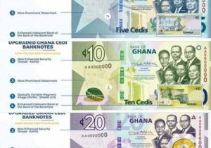 Upgraded Ghana Cedi Notes Out Today