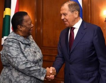 SA's Naledi Pandor Attends BRICS Foreign Affairs Ministers' Meeting in Brazil