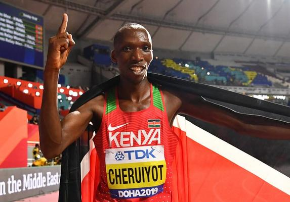 Kenyan Team Cheruiyot Set To Create History in First-ever Virtual Race